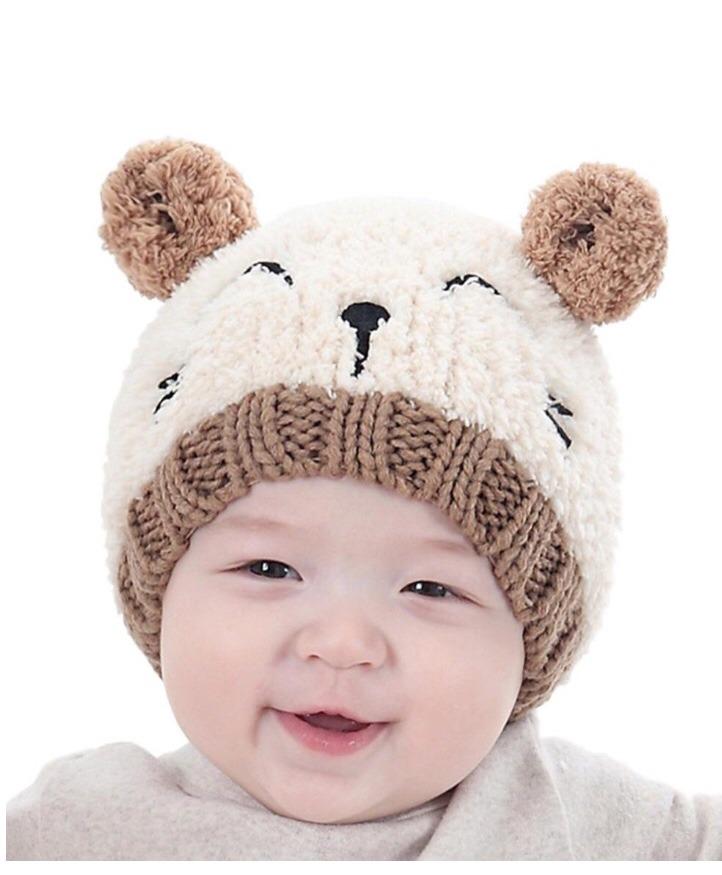 touca gorro de lã infantil bebê menino menina inverno frio. Carregando zoom. ce76e4f3be7