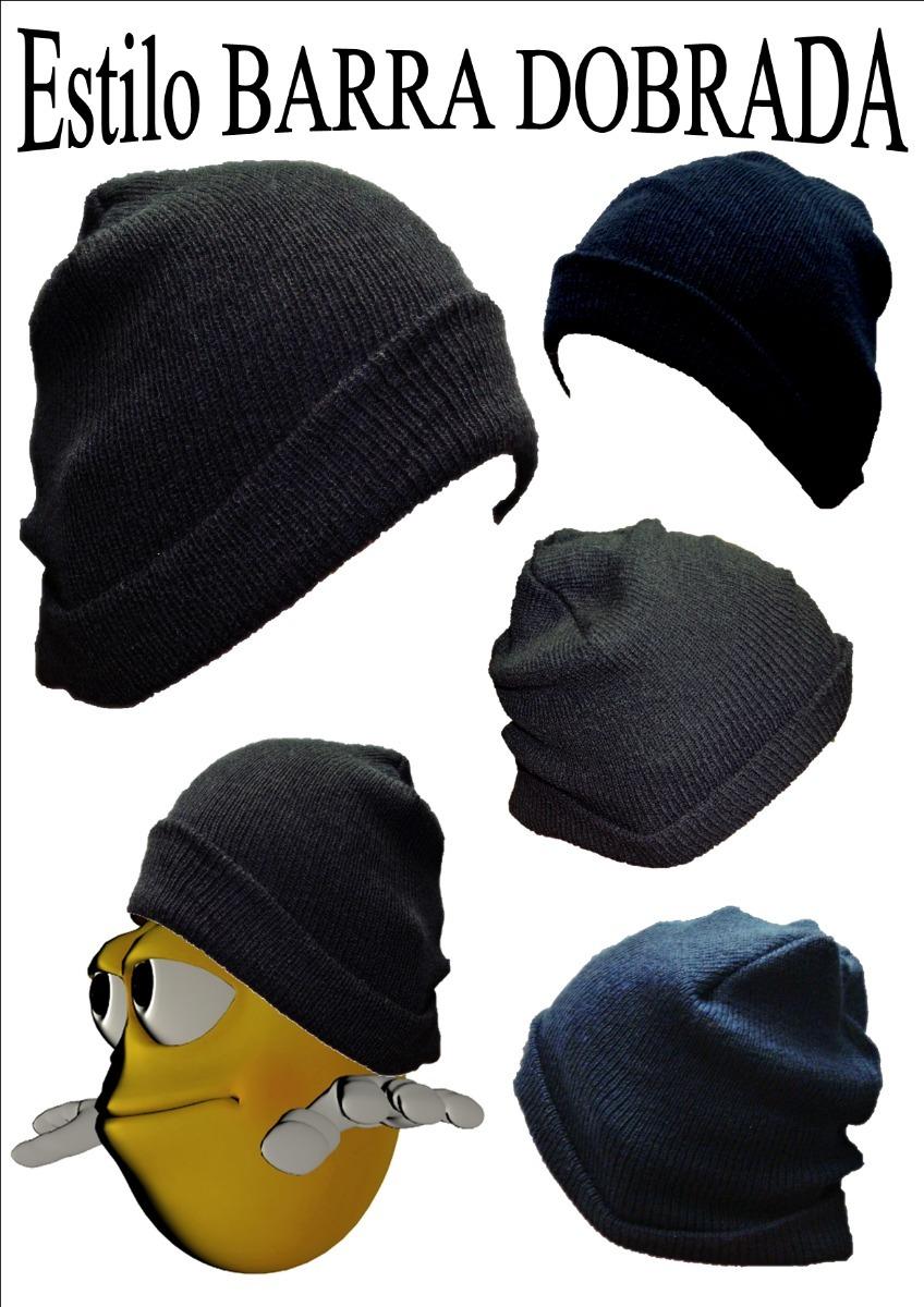 touca gorro de lã preto oversized beanie básica frio inverno. Carregando  zoom. b289f474b31