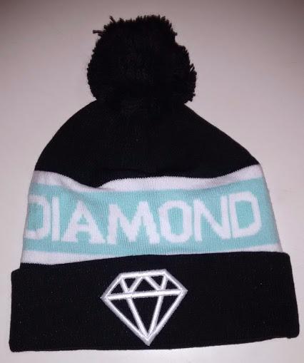 Touca  Gorro Diamond No Brasil Preta 9f10bbece0e