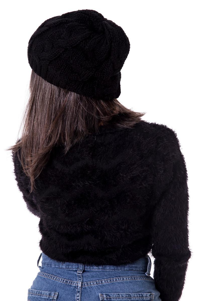 touca gorro feminina boina bem quente modelo caidinho  070. Carregando zoom. 8c617bbaa83
