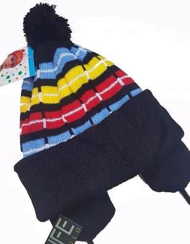 baf830b7d3c8a Touca Gorro Infantil Modelo Chaves Em Lã Menino Menina Frio