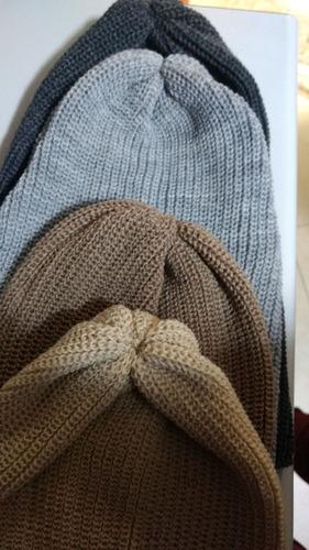 touca gorro lã long beanie  feminino masculino unissex