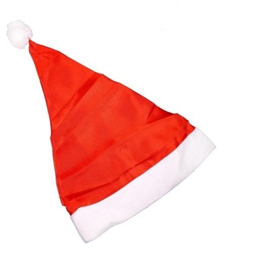 Touca Gorro Papai Noel Natal Para Atacado 100pçs - R  191 37f739072b0