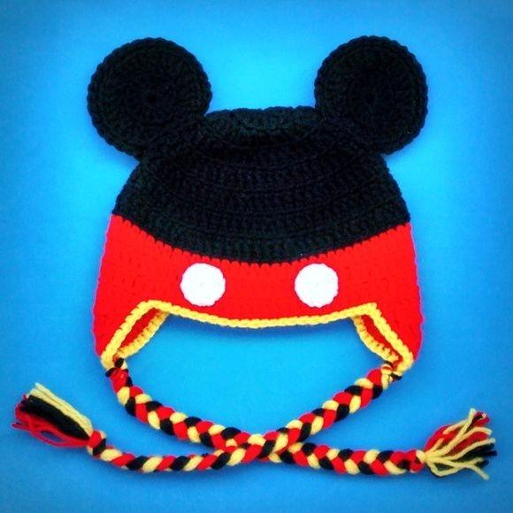 Touca Gorro Personagens Infantil Em Crochê - R  14 70ae93cbb29