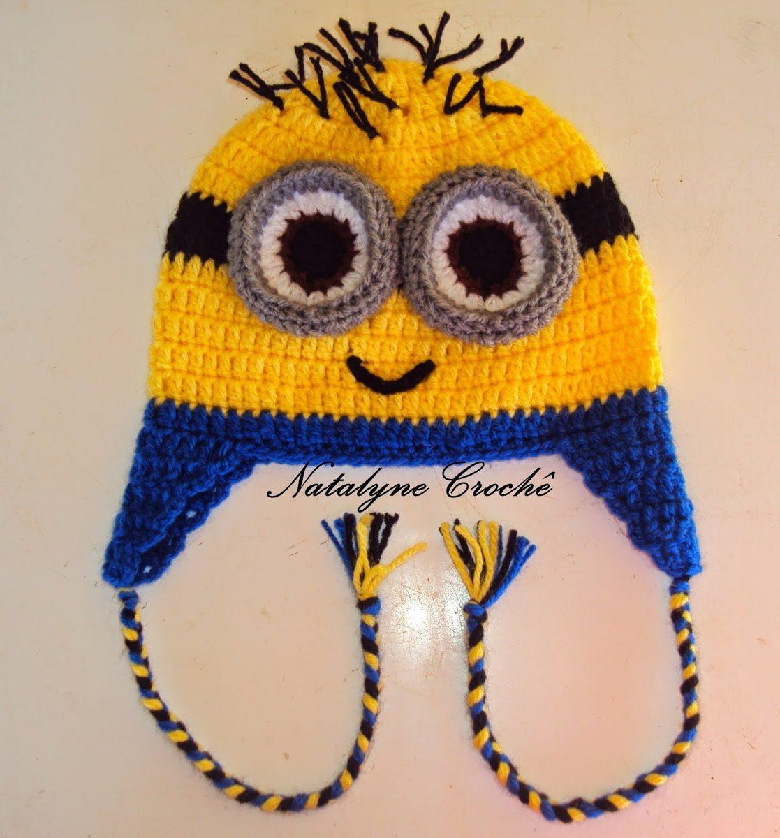touca gorro personagens infantil em crochê. Carregando zoom. 7c0e27f575d