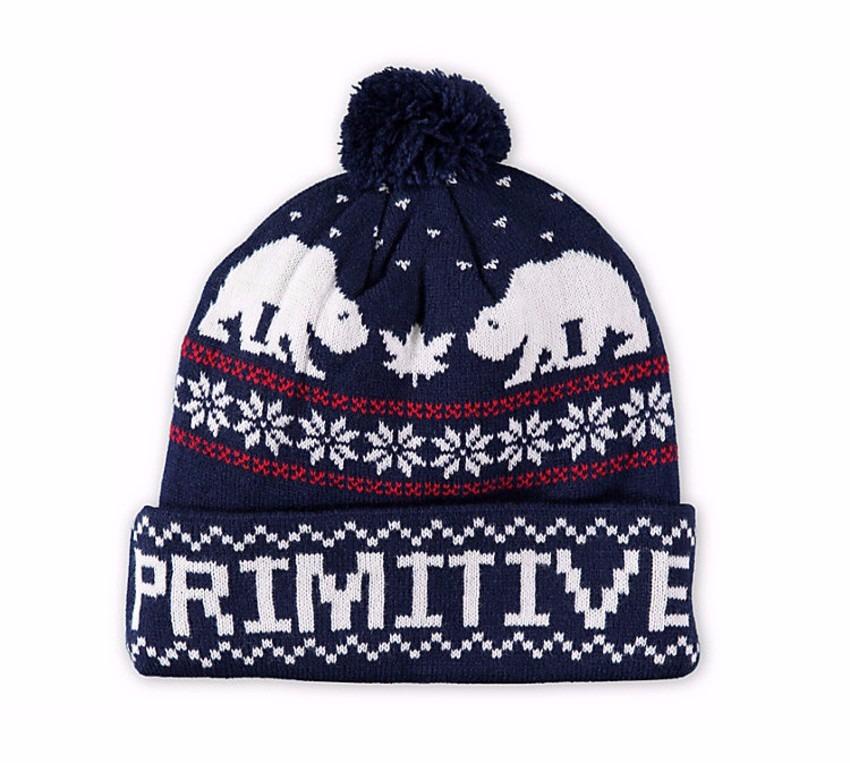 touca gorro primitive jolly bear 2 pom beanie skate importad. Carregando  zoom. 597d0f6a7eb