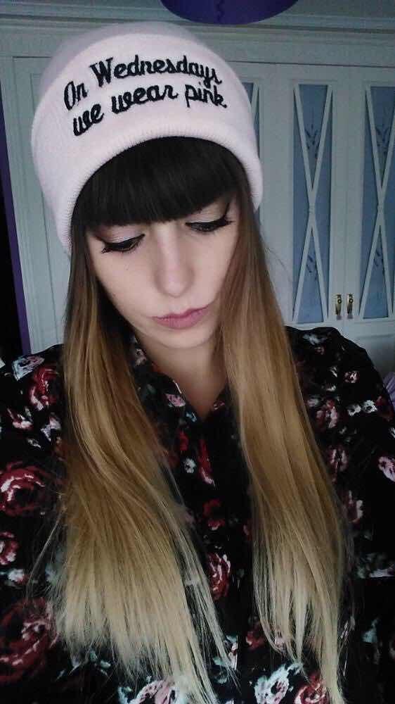 Touca Gorro Rosa Tumblr Meninas Malvadas Frase Mean Girls R 3599