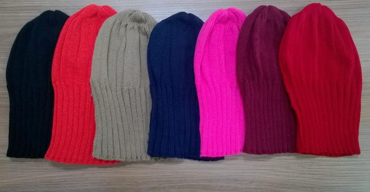 touca gorro tricô tricot lã unissex várias cores. Carregando zoom. 99938690992