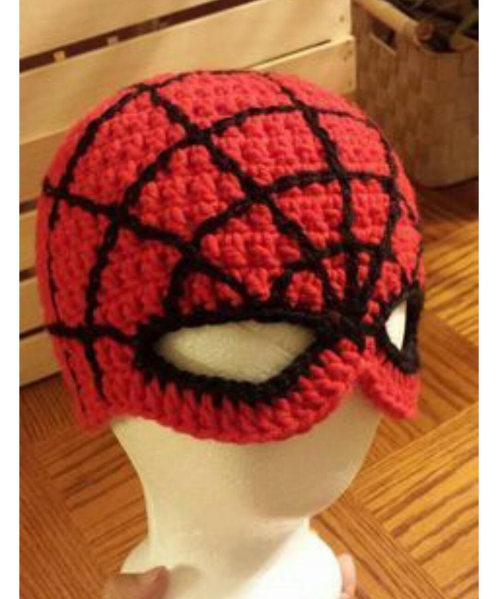 touca homem aranha de crochê super heróis. Carregando zoom. bd592d00de4