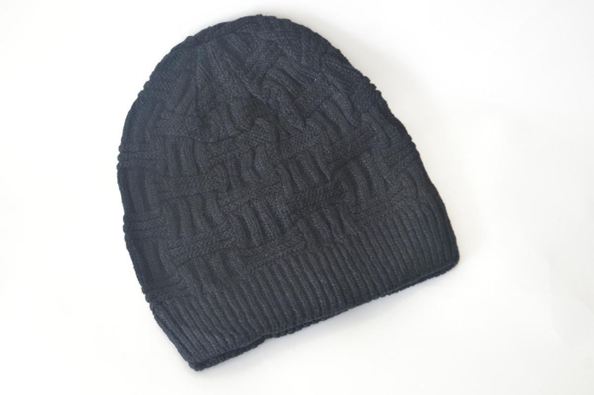 touca lã preta unissex estilo gorro super em alta ótima c53. Carregando  zoom. ef107e9d2ded7