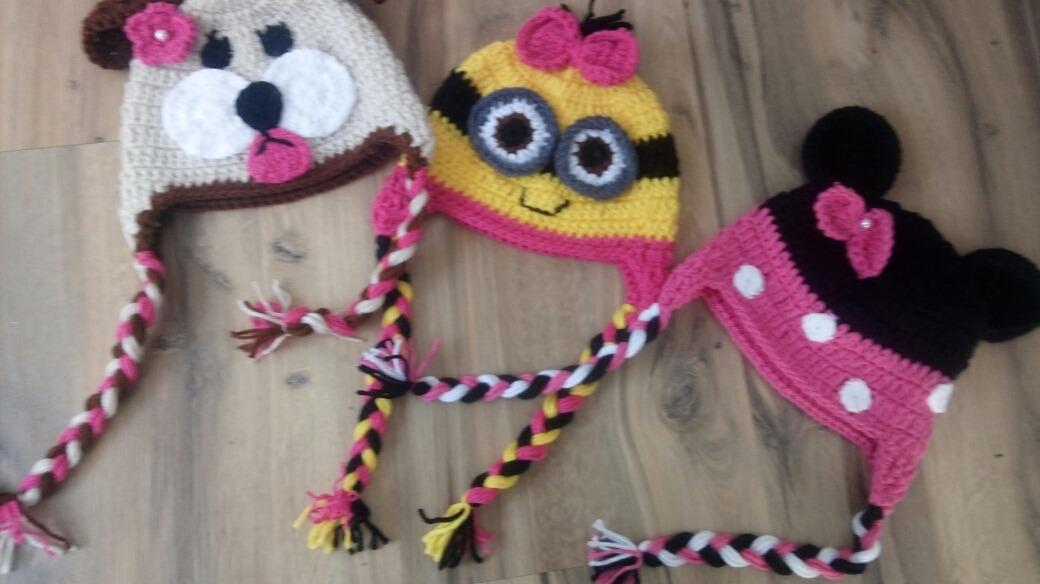 touca menina de croche kit com 3. Carregando zoom. c6680f49064
