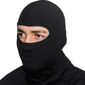 Touca Ninja Preta Balaclava Motoqueiros Militar Tatica
