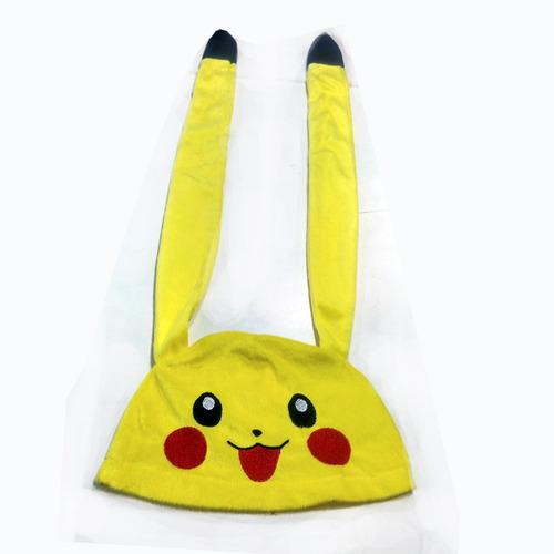 touca orelhão cosplay pikachu dormir