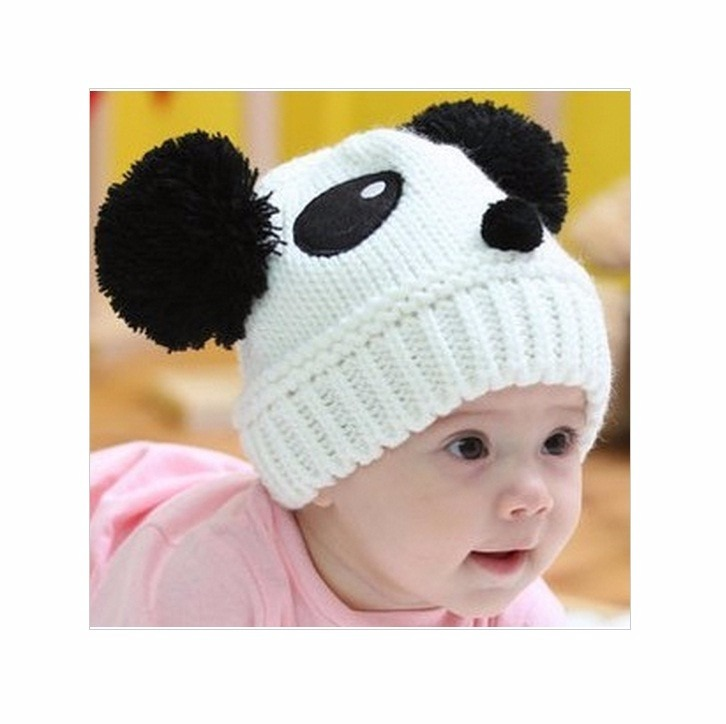 Touca Panda Bebe Gorro Crochet Foto Frio Inverno Acessório. - R  32 ... f845c94dbda