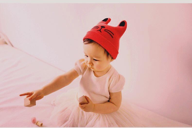 ff0ee19ea49c9 Touca Para Bebê Em Malha Super Macio - 0 A 2 Anos - R  35