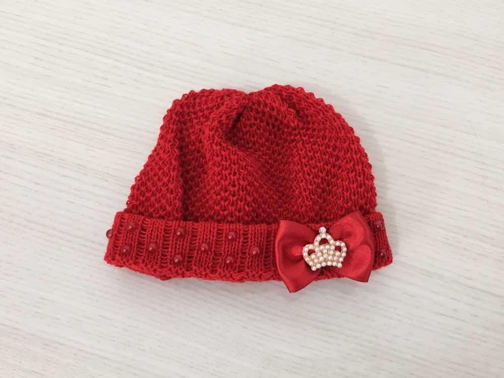 Touca Para Saída De Maternidade Menina Princesa - R  38 14d793742ae