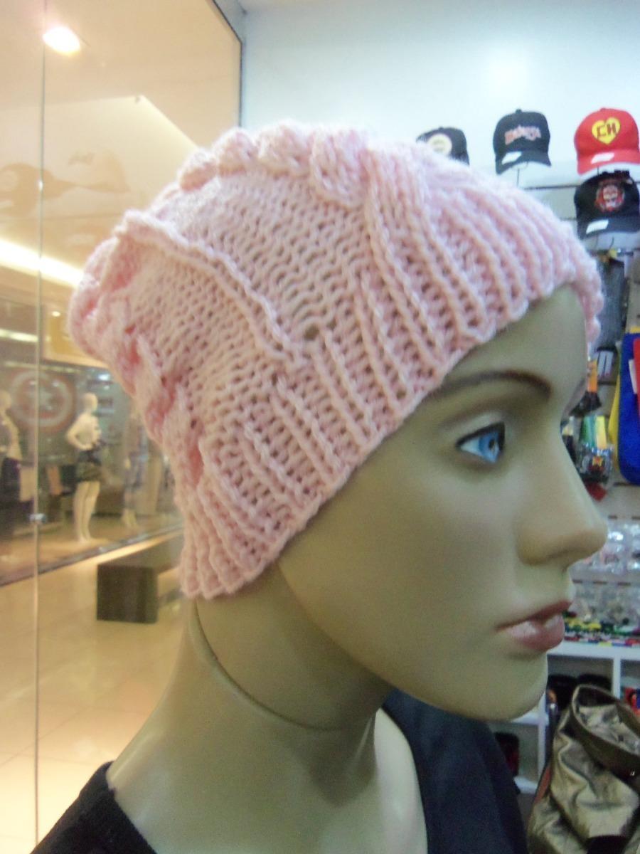 touca rosa ponto trança em tricot feito a mao. Carregando zoom. a7f6a0ab808