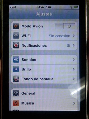 touch 8gb ipod