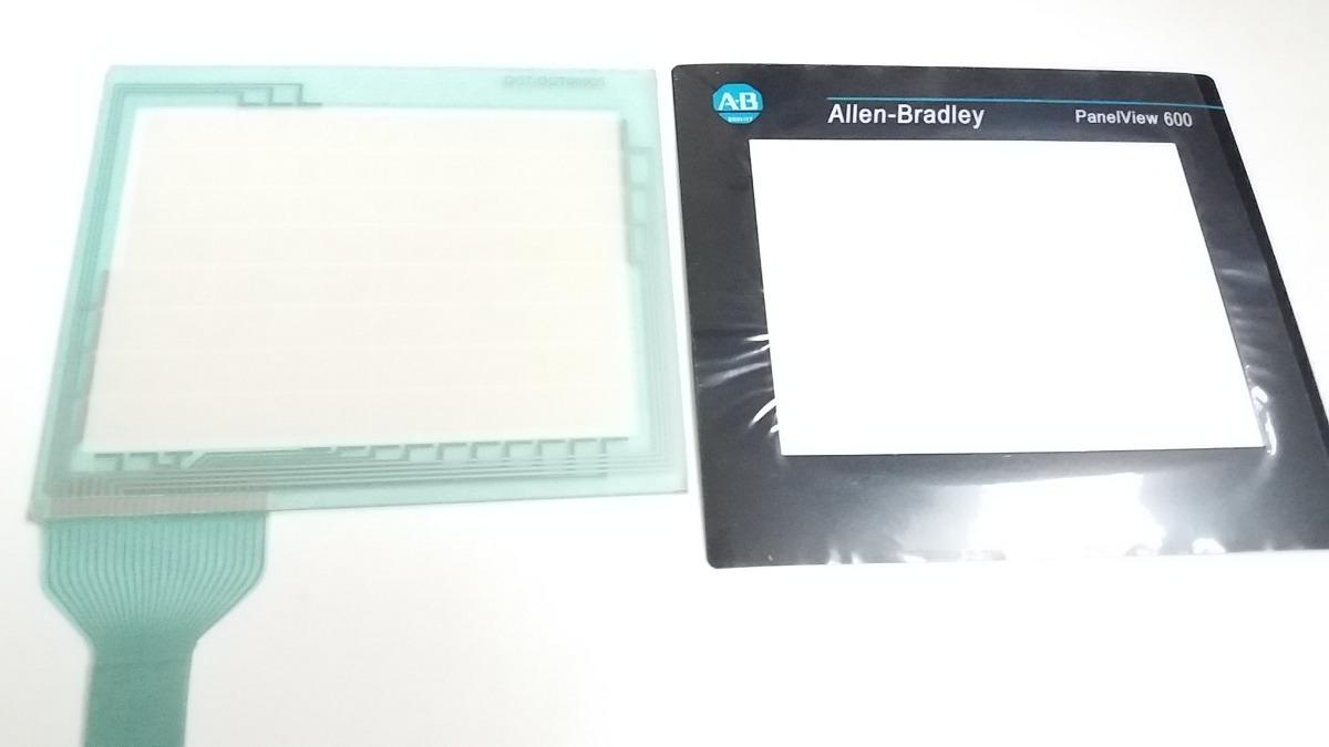 Touch Allen Bradley Panelview 600 Plus 2711 - T6c1l1 +filme