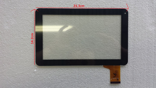 touch de tablet 9 lexus sy9l13100038 flex mf-358-090f-4 fpc