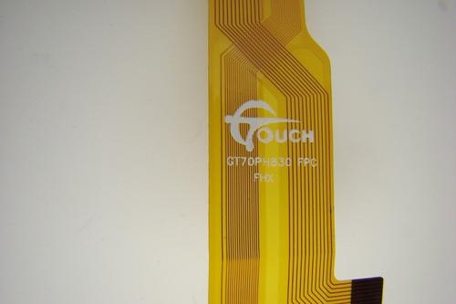 touch de tablet techpad xtab-781+ gt70mk727 hh070fpc 092a