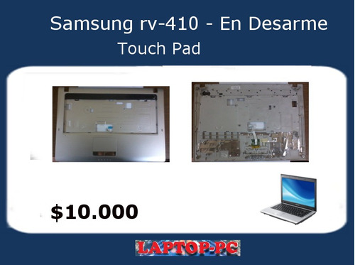 touch pad samsung rv410 en desarme