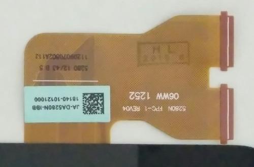 touch screen asus memopad 10.1  5280n fpc 1 rev04