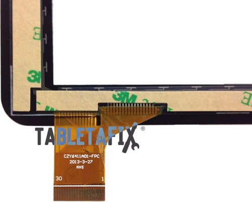 touch screen digitalizador para table czy6411 f728h aikun
