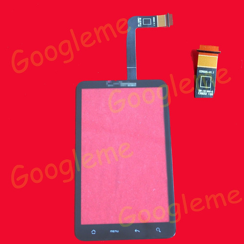 touch screen digitalizador verizon htc thunderbolt pane fron
