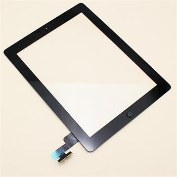 touch screen flex conector+ boton home para ipad 2 negro