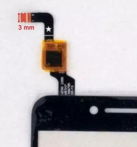 touch screen negro celular lenovo k5 a6020 plus