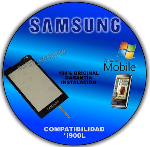 touch screen samsung i900l i900 i908 pantalla tactil i900l