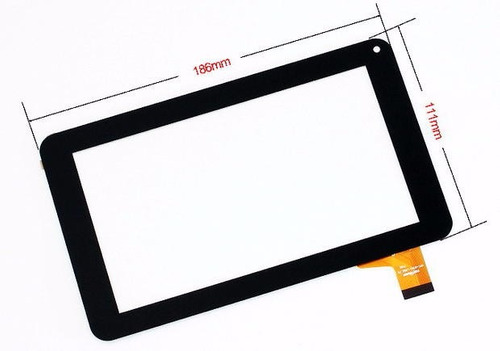 touch screen táctil vidrio para tablet top house s7002
