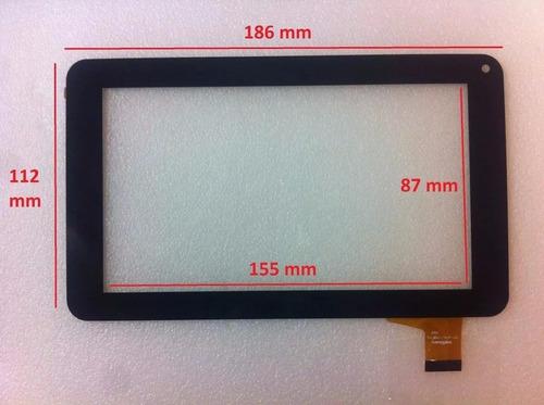 touch tablet china 7 pulgadas rca rct6077w2 flex: clv2659-b