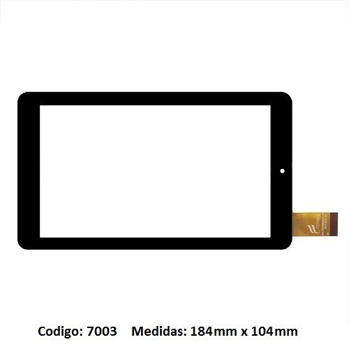 touch tactil vidrio tablet admiral mimo