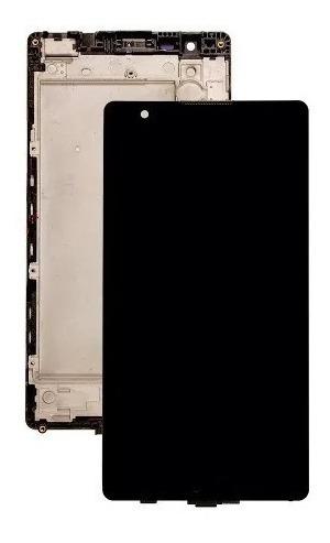 touch tela display lcd frontal lg x power k220 k220dsf preto