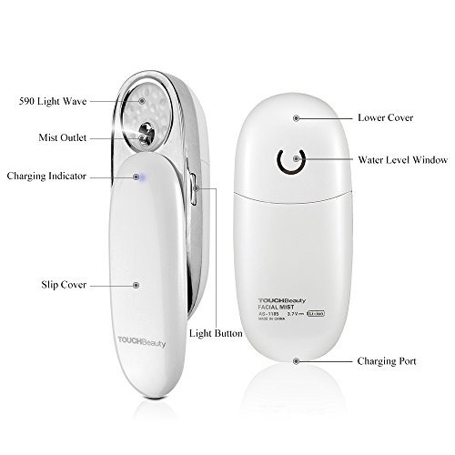 touchbeauty dispositivo portátil de nano hidratante facial f