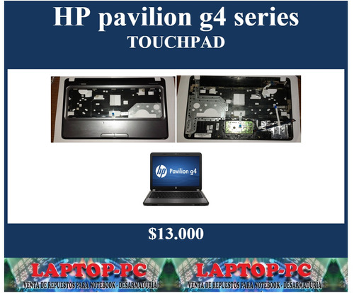 touchpad  hp pavilion g4 series
