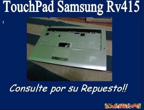 touchpad samsung rv415