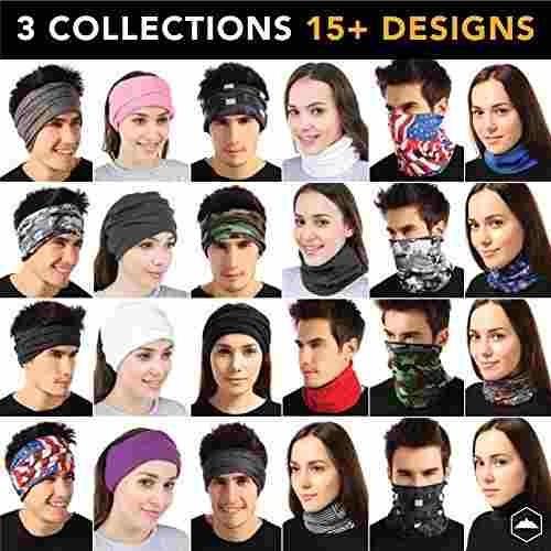 tough headwear calentador de cuello color: equipo usa