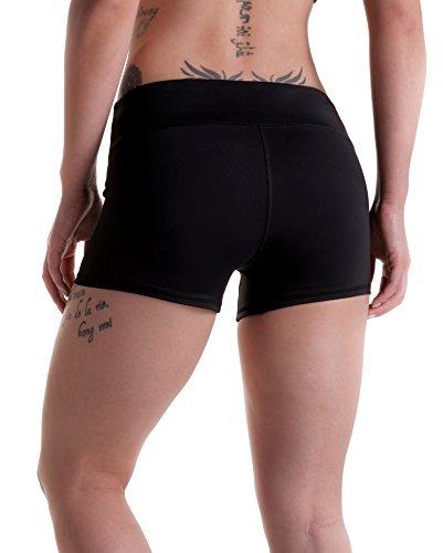 Tough Mode Womens 3 Compression Wod Shorts Deportivos Yoga V