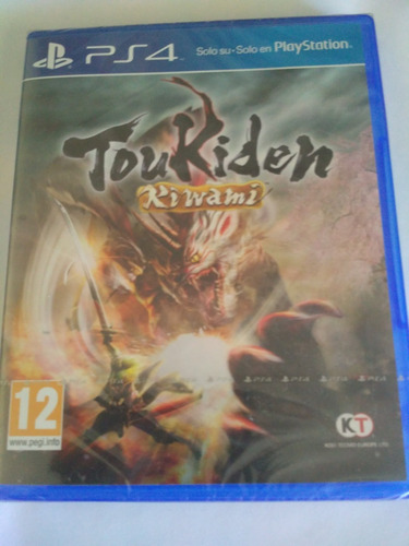 toukiden kiwami ps4 nuevo sellado envio gratis