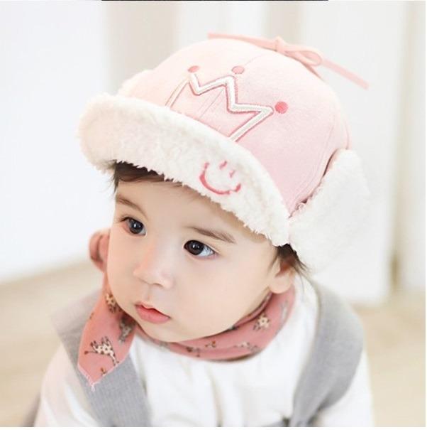 Touquinha Príncipe Princesa Bebê Touca Frio Gorro Tbo1 - R  42 d0a1272131e