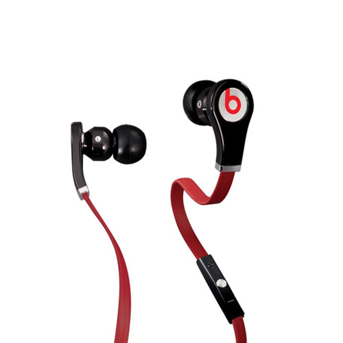 tour beats by dr dre in-ear headphones black ear phone