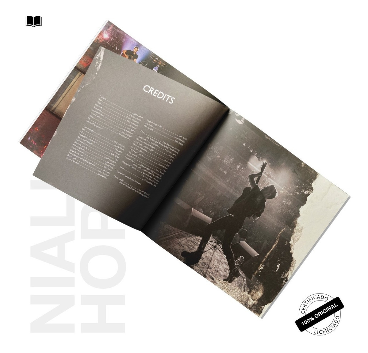 Officialmerch Tour Book Niall Horan Flicker World Tour 2018 R 60 00