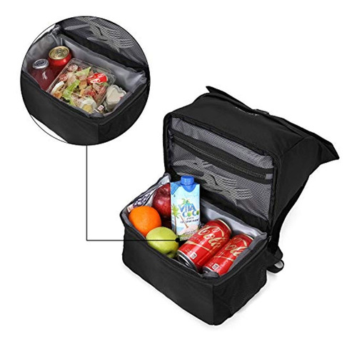 tourit mochila refrigeradora con almuerzo