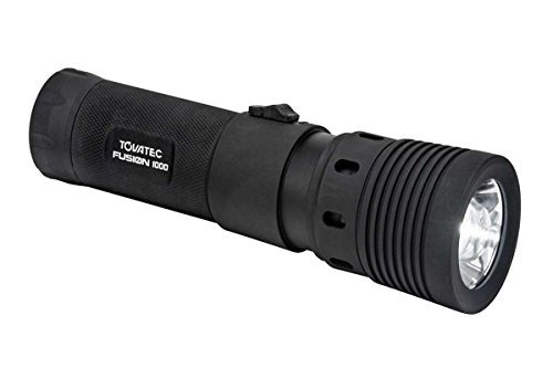 tovatec fusion 1000 lm 100m impermeable video led buceo luz