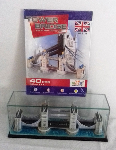 tower bridge, rompecabezas en 3d