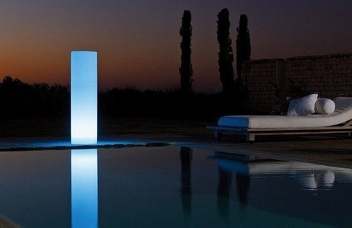 tower lámpara led bluetooth de interior y exterior