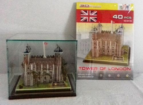 tower of london, rompecabezas en 3d
